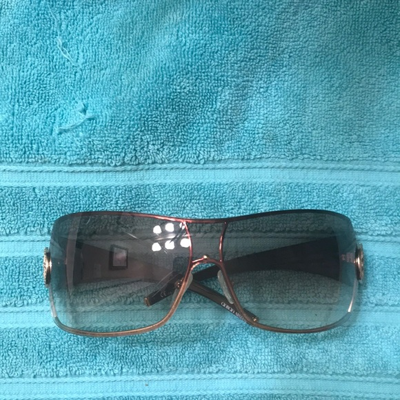 9ff938b5b10f Giorgio Armani Accessories - Giorgio Armani sunglasses. Crystals on the  emblem.